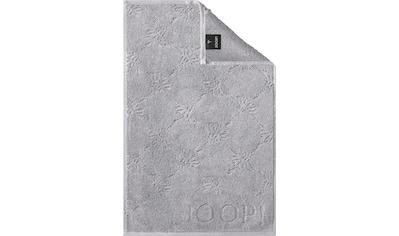 Joop! Gästehandtücher »JOOP! UNI-CORNFLOWER«, (3 St.), mit Kornblumen-Muster kaufen