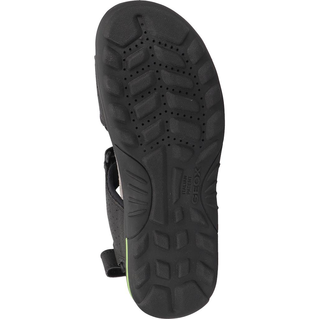 Geox Sandale »Veolurs/Textil/Synthetik«