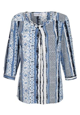 Dress In Bluse mit schönem Druck rundum kaufen