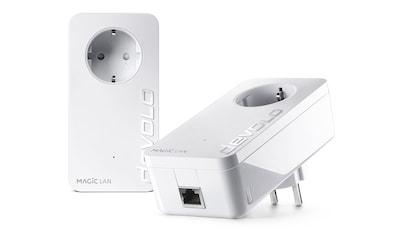 DEVOLO LAN-Router »(1200Mbit, Powerline, 2x GbitLAN, Heimnetz)«, Magic 1 LAN Starter Kit kaufen