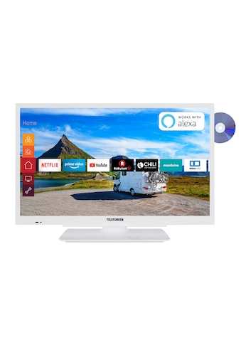 "Telefunken LED-Fernseher »XF22G501VD-W«, 55 cm/22 "", Full HD, Smart-TV kaufen"