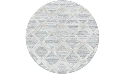 Ayyildiz Teppich »PISA 4703«, rund, 20 mm Höhe kaufen