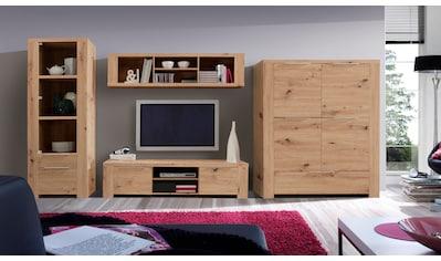 FORTE Wohnwand, (Set, 4 St.), Korpus/ Front aus Holzwerkstoff kaufen