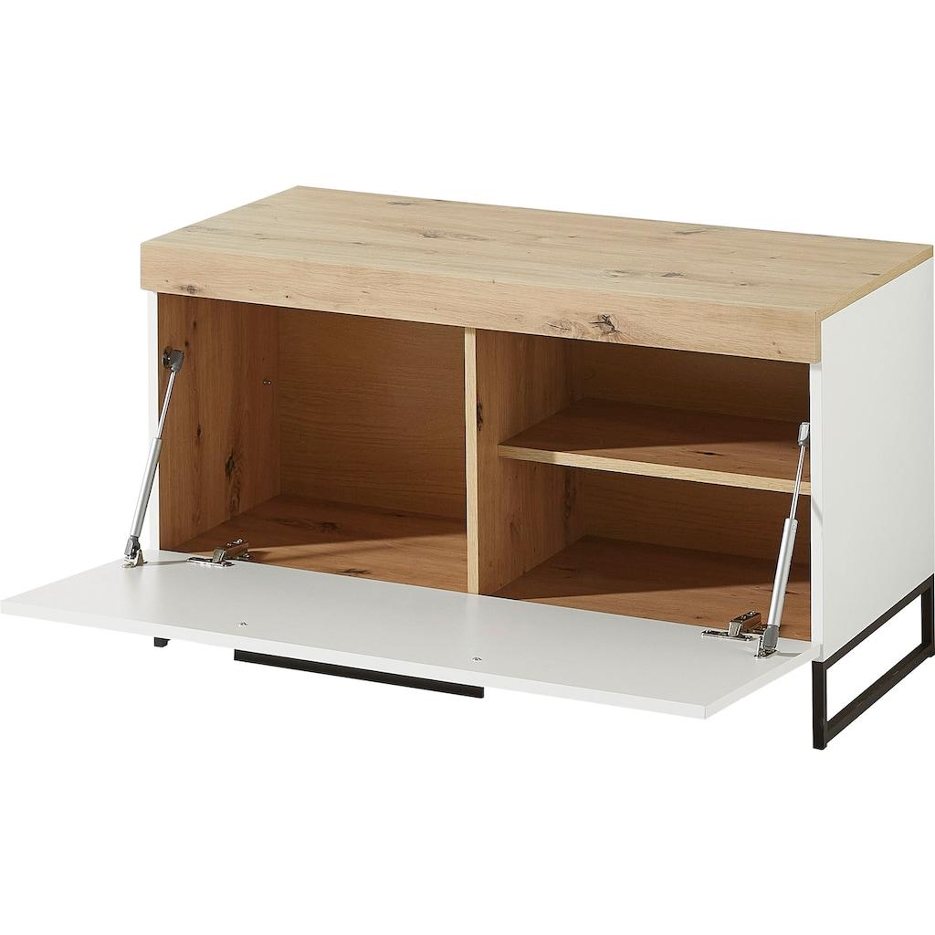 Innostyle Lowboard »Loft Two«, Breite 96 cm, 1 Klappe