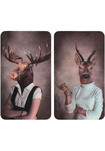 WENKO Herd-Abdeckplatte »Universal Humanisation Female«, (Set, 2 tlg.), für alle... kaufen