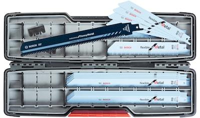 BOSCH Set: Sägeblatt »SSB ToughBox«, 20 tlg. Inkl. Carbide Säbelsägeblatt kaufen