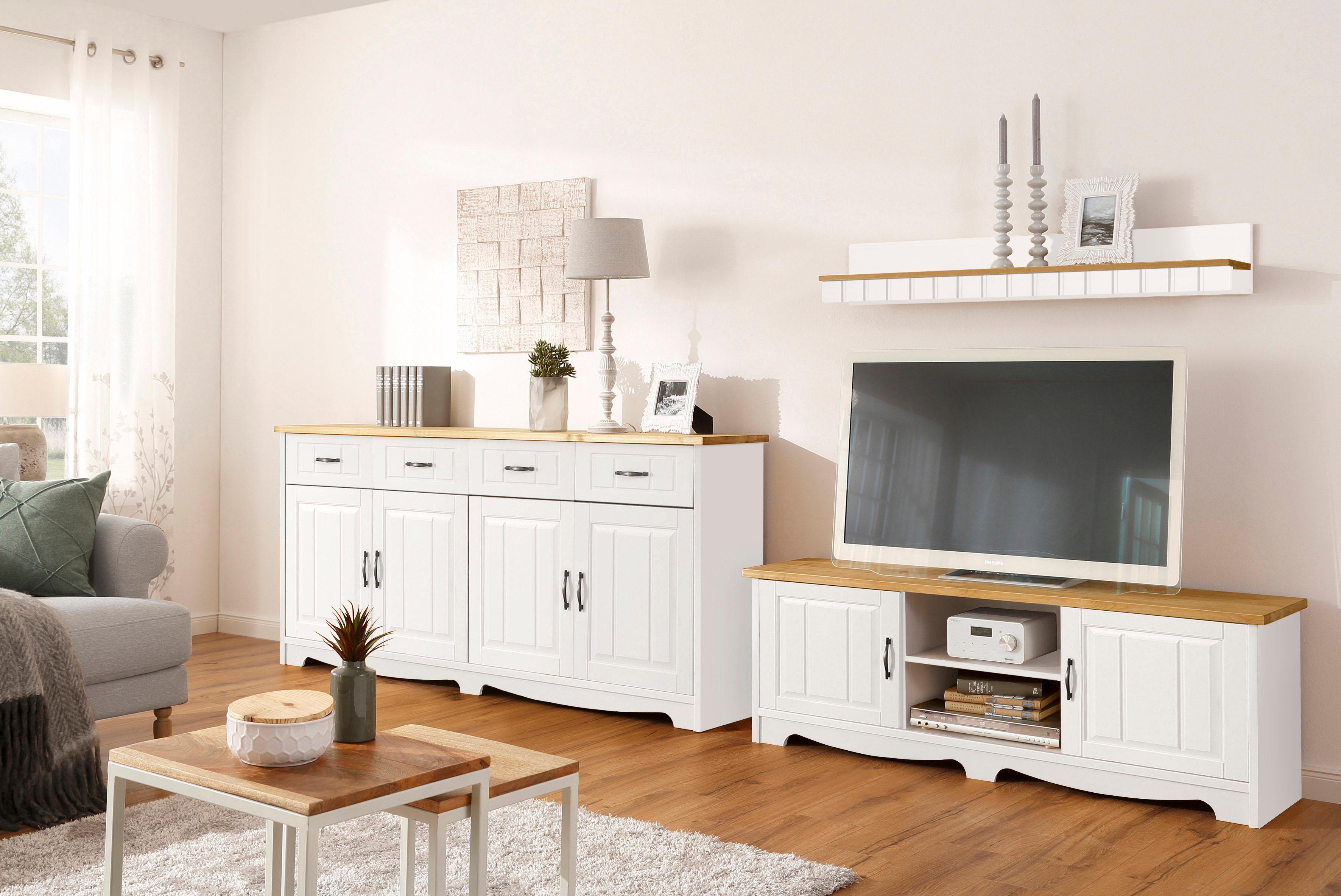 Home affaire 3-teilige Wohnwand  Trinidad , Set aus 1 Wandboard, 1 Sideboard, 1 Lowboard Preisvergleich