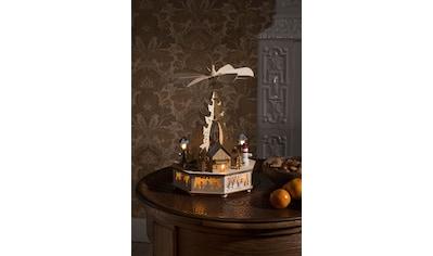 KONSTSMIDE Weihnachtspyramide, LED Holzpyramide kaufen
