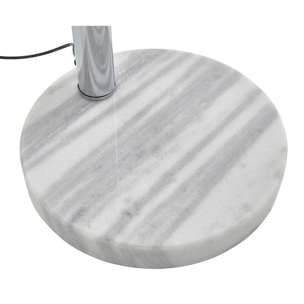 TRIO Leuchten Bogenlampe »Five Fingers«, E14, Fußschalter, Leuchtmittel tauschbar