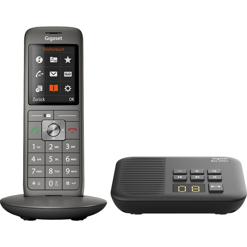 Gigaset »CL660A mit Box 200A« Schnurloses DECT-Telefon (Mobilteile: 1)