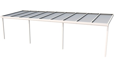GUTTA Terrassendach »Premium«, BxT: 914x306 cm, Dach Acryl bronce kaufen