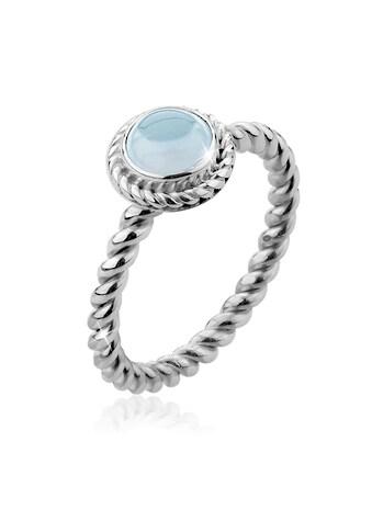 Nenalina Fingerring »Aquamarin Geburtsstein März Trend Edel 925 Silber« kaufen