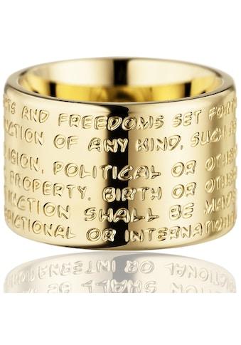 Gilardy Ring »Edelstahl PVD Gelbgold« kaufen