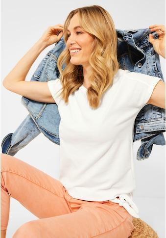 Cecil T-Shirt, mit Knotendetail kaufen