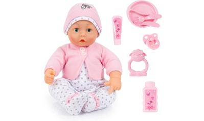 """Bayer Babypuppe """"Baby Lisa rosa/weiß"""" (Set, 8 - tlg.) kaufen"""