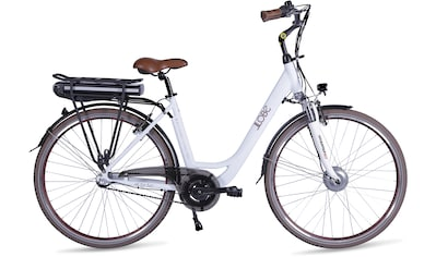 LLobe E - Bike »Metropolitan JOY modernwhite 8Ah«, 3 Gang Nabenschaltung, Frontmotor 250 W kaufen