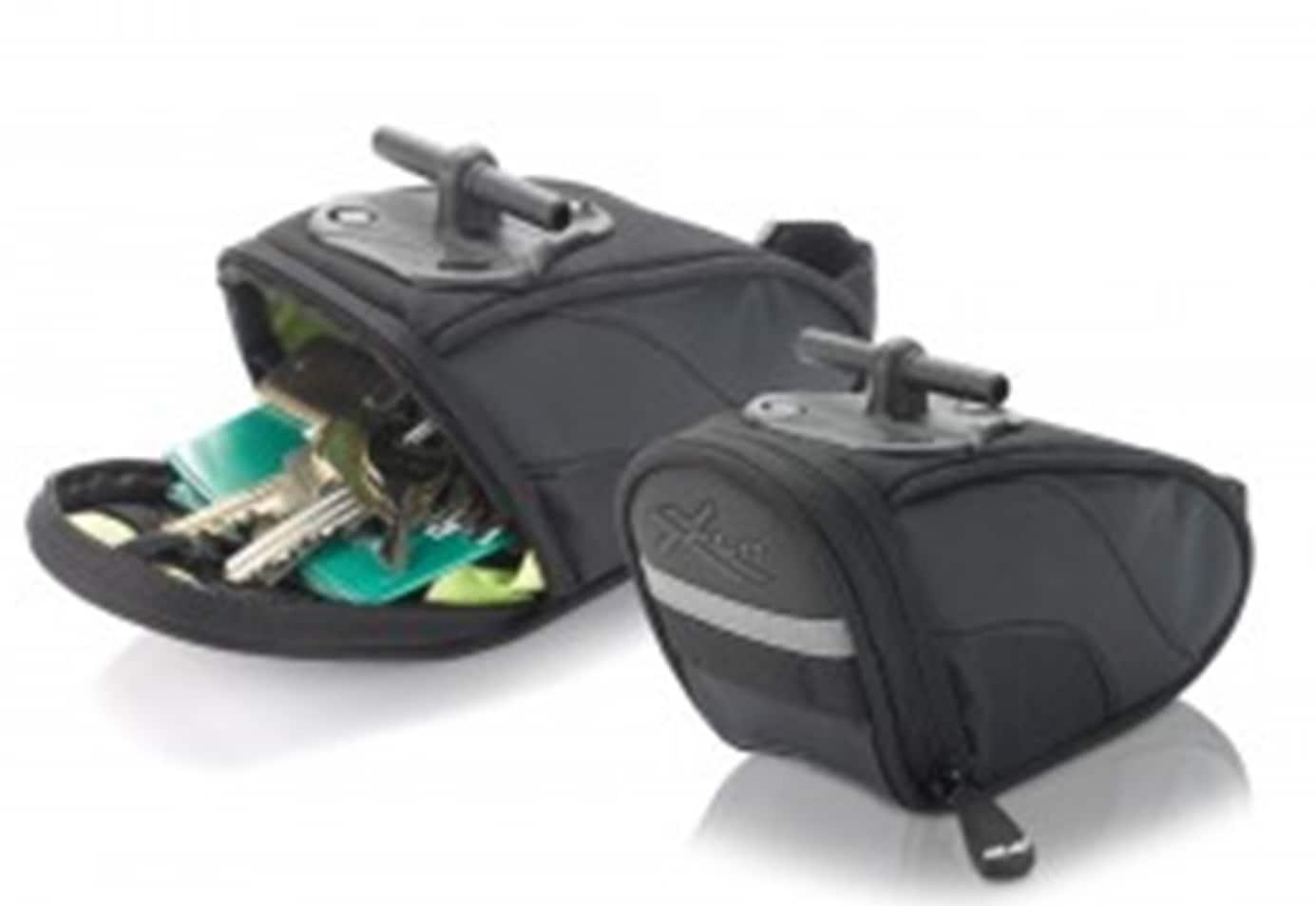 XLC Satteltasche schwarz Fahrradtaschen Fahrradzubehör Fahrräder Zubehör Taschen