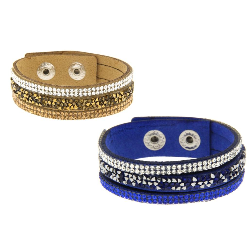 La Piora Armband »Armband Set«, blau & braun