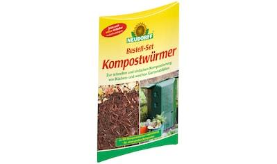 Neudorff Kompostwürmer, ca. 500 Würmer kaufen