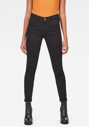 G - Star RAW Skinny - fit - Jeans »3301 High - Waist Skinny« kaufen