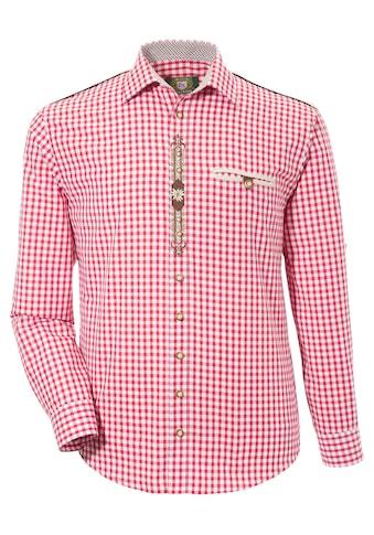 OS - Trachten Trachtenhemd mit geradem Schnitt kaufen