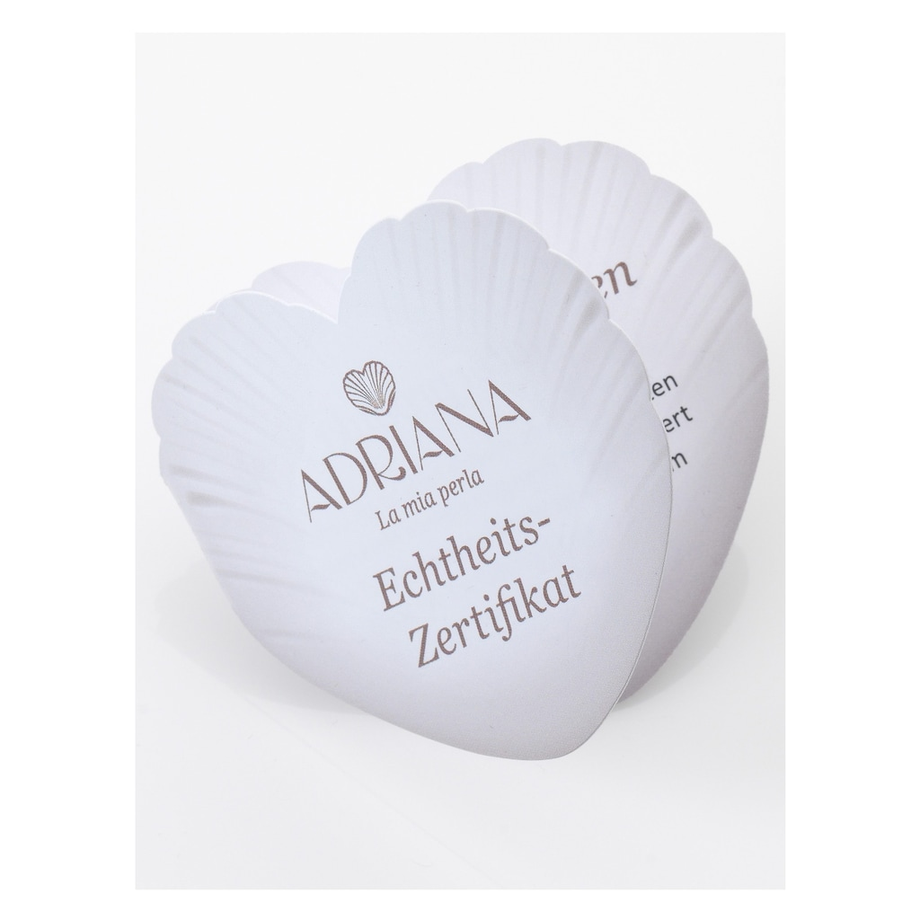 Adriana Perlenohrringe »La mia perla, E15, E16, E17, E18, E22«