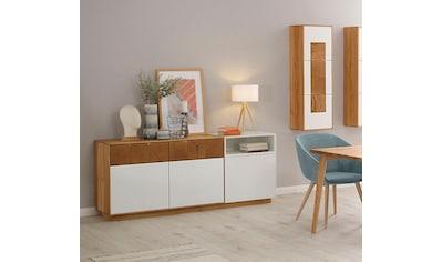 WHITEOAK GROUP Sideboard »Lanzo«, aus massivem Eichenholz in hochwertiger Verarbeitung kaufen