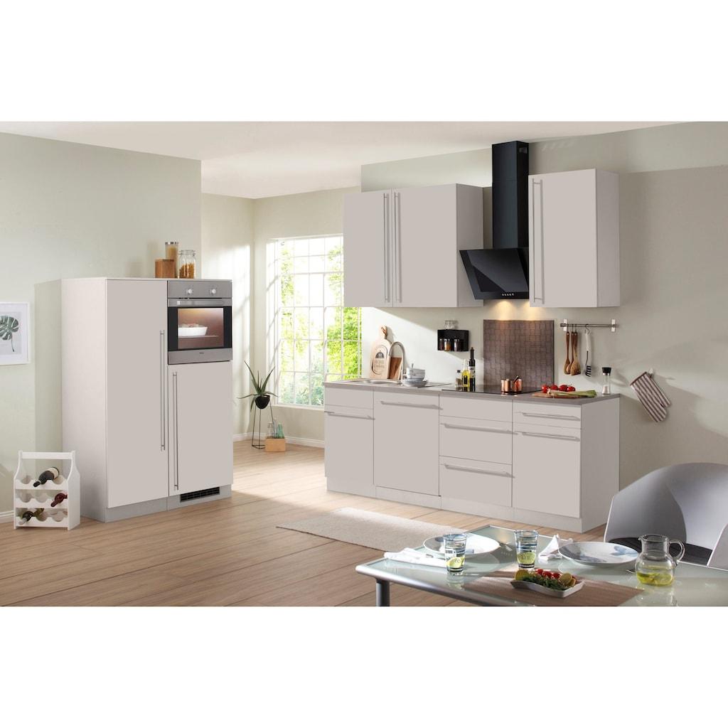wiho Küchen Küchenzeile »Chicago«, ohne E-Geräte, Breite 330 cm