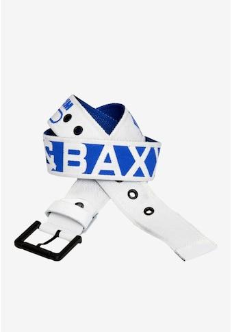 Cipo & Baxx Stoffgürtel, mit coolem Markendesign kaufen