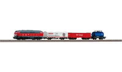 PIKO Modelleisenbahn Startpaket »BR 218 DB Cargo mit 3 Güterwagen, (57154)« kaufen
