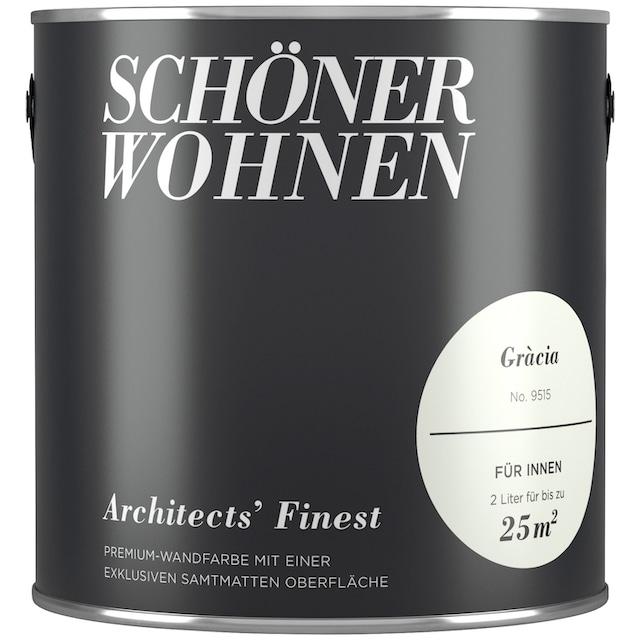 SCHÖNER WOHNEN FARBE Wand- und Deckenfarbe »Architects' Finest - Gràcia«, 2 l