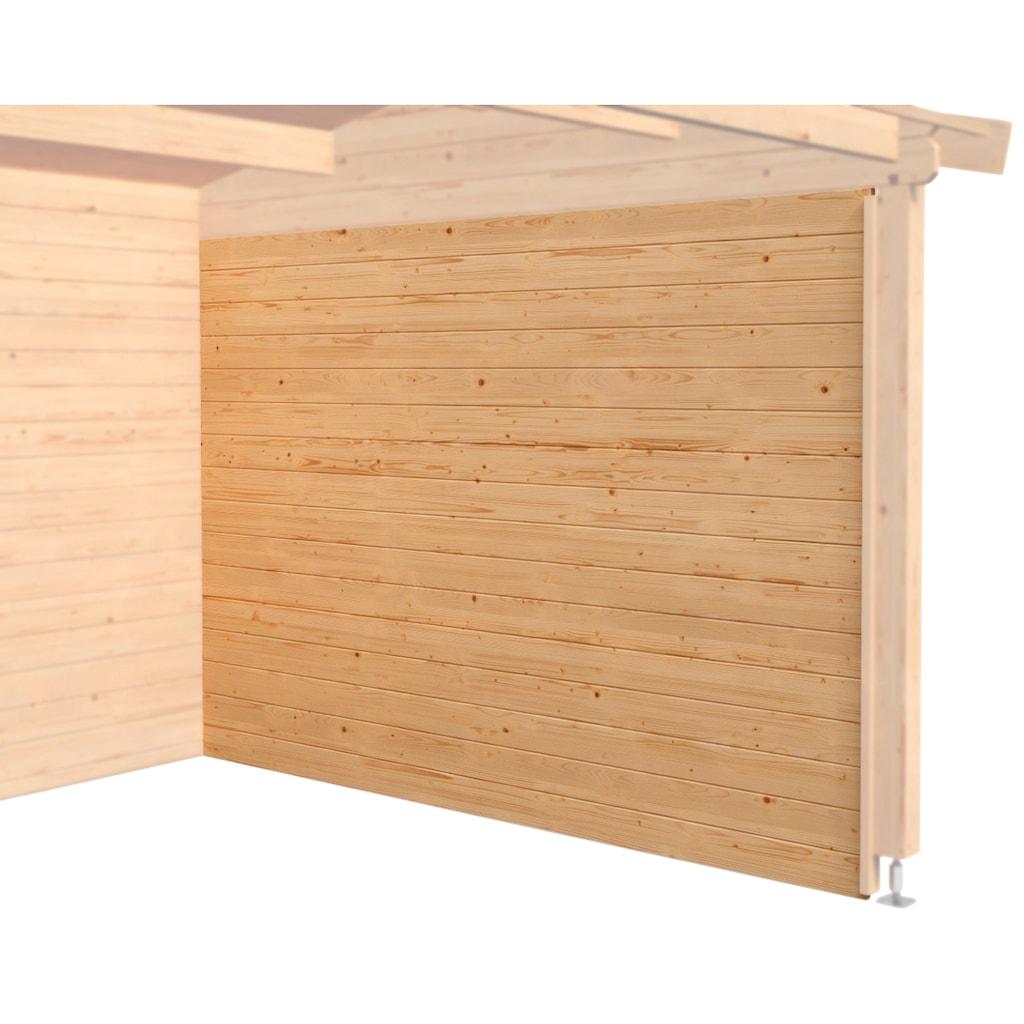 Nordic Holz Seitenwand, für Haus Tampa, St. Louis, Novia Plus, Jelle Plus