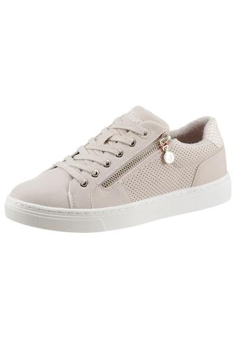 s.Oliver Sneaker, mit leichter Perforierung kaufen