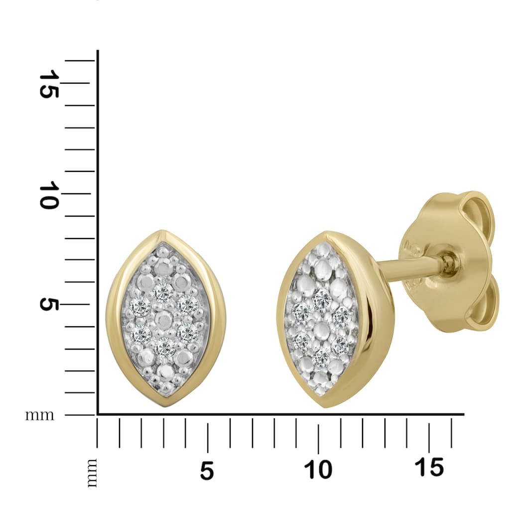Orolino Paar Ohrstecker »585/- Gelbgold Brillanten«