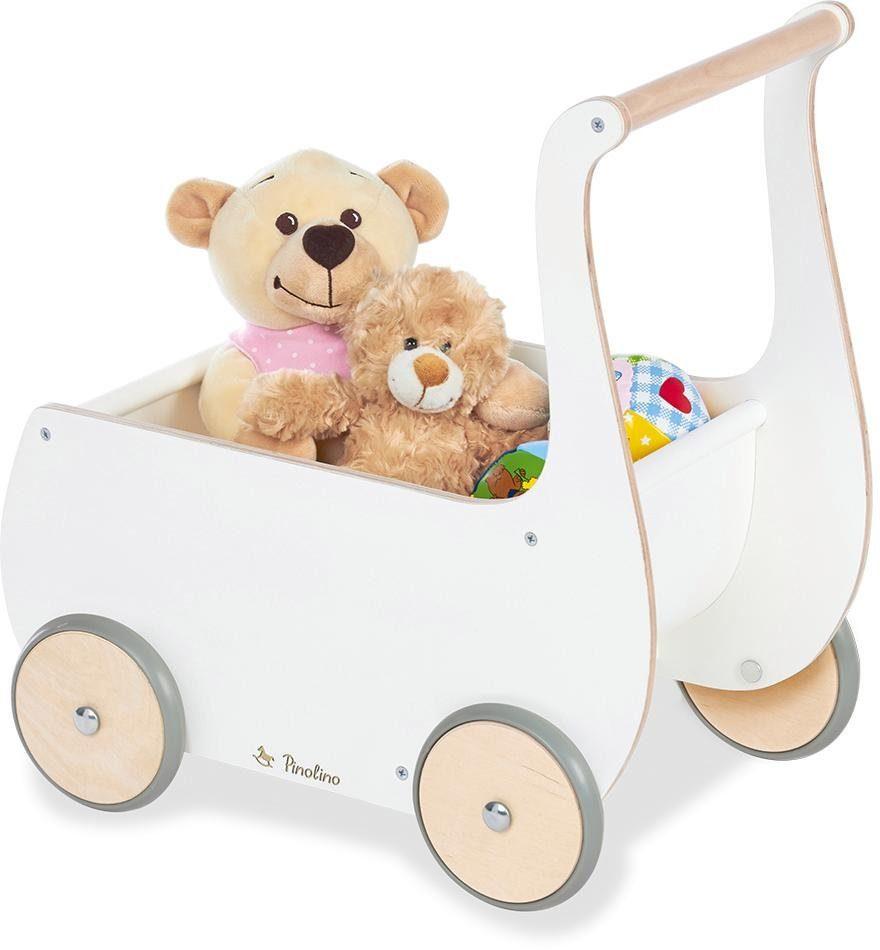 Pinolino Puppenwagen Mette, weiß Kinder Puppenzubehör Puppen