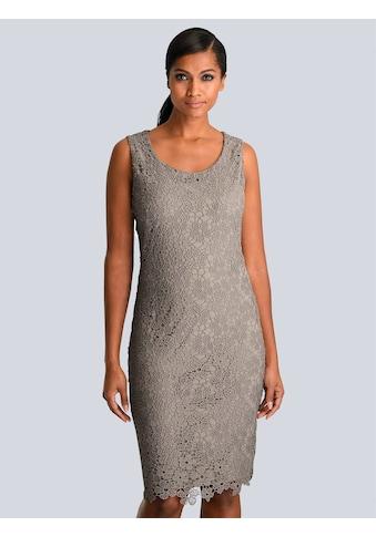 Alba Moda Kleid aus edler Spitze allover kaufen