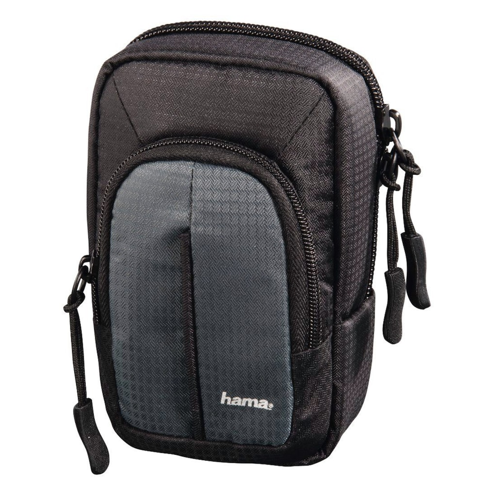 Hama Tasche für Digitalkameras, Fototasche mit Gürtelschlaufe