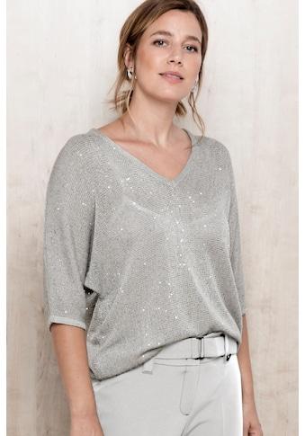 bianca Strickpullover »OTIS«, Oversized, mit zarten Paillettendetails kaufen