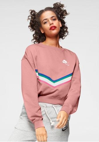 Nike Sportswear Sweatshirt »Heritage Fleece Crew« kaufen