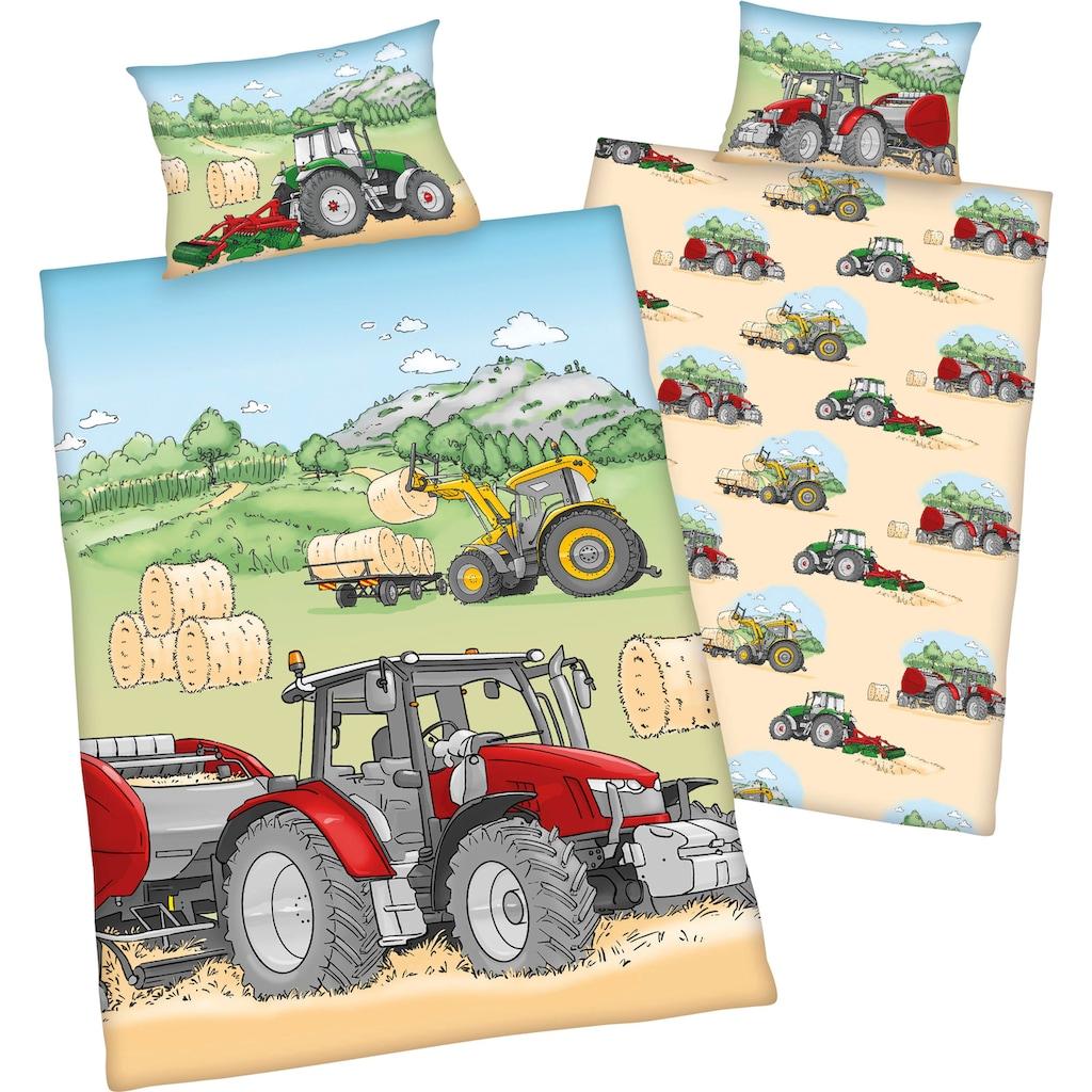 Baby Best Babybettwäsche »Traktor«, mit tollen Traktor Motiven
