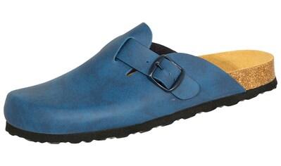 Clog »808707 Lico Bioline Clog blau«, Lico Bioline Clog blau kaufen