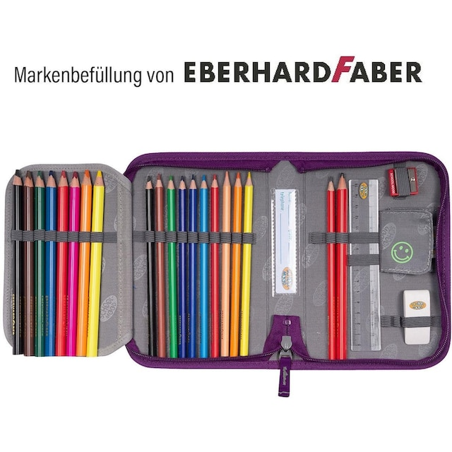 SCHOOL-MOOD® Schulranzen »Loop Air, Lea« (Set, 7 tlg.)