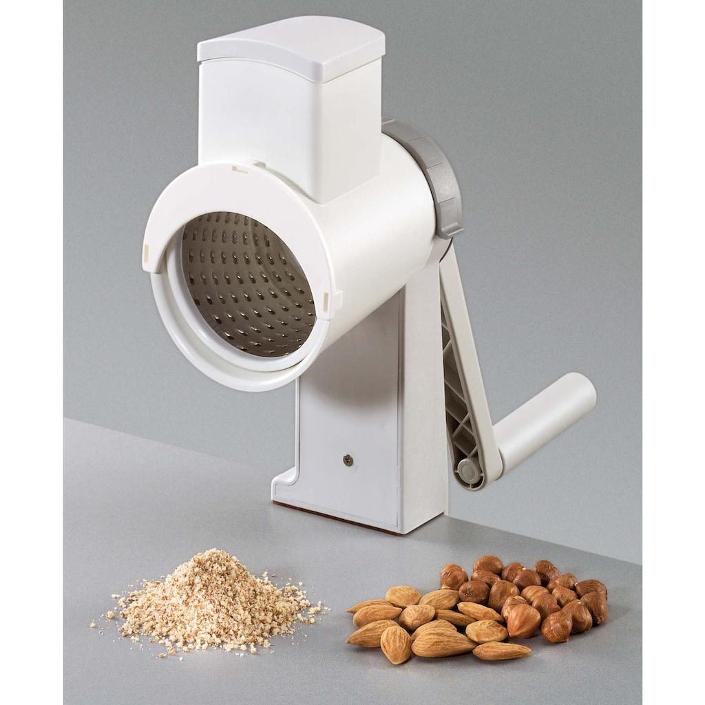 GSD HAUSHALTSGERÄTE Trommelreibe, für Nüsse und Mandeln