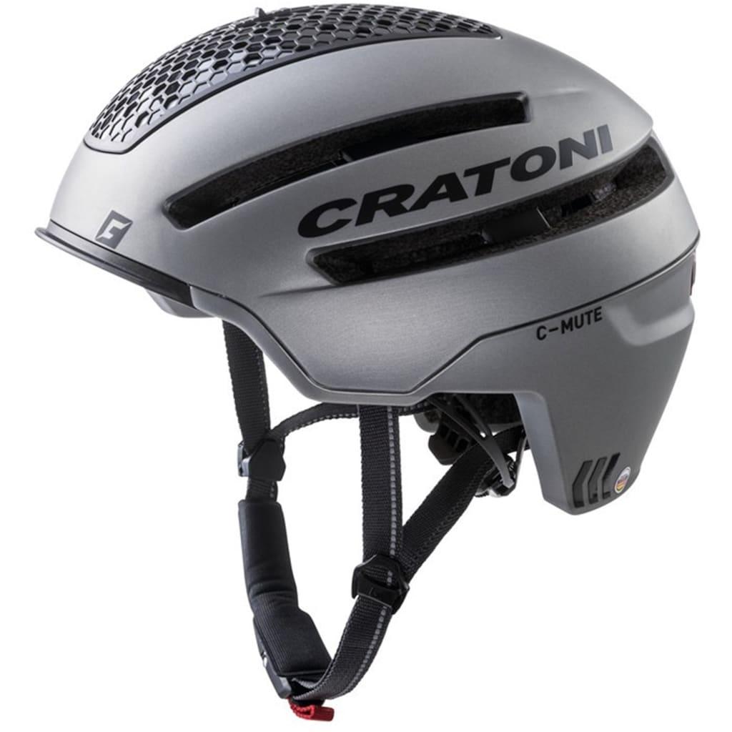 Cratoni Fahrradhelm »Pedelec-Helm C-Mute«, eingebautes Rücklicht, Reflektoren