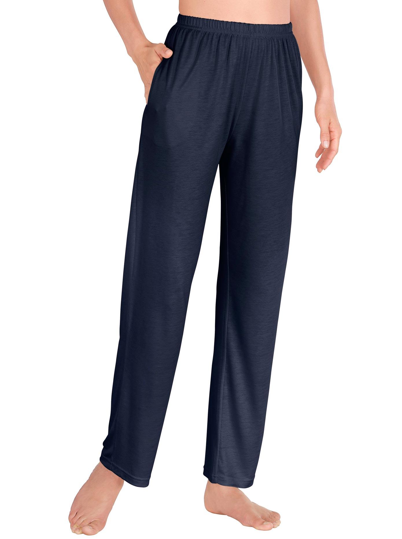 Lady Freizeithose aus weich fließender Qualität | Bekleidung > Hosen > Gerade Hosen