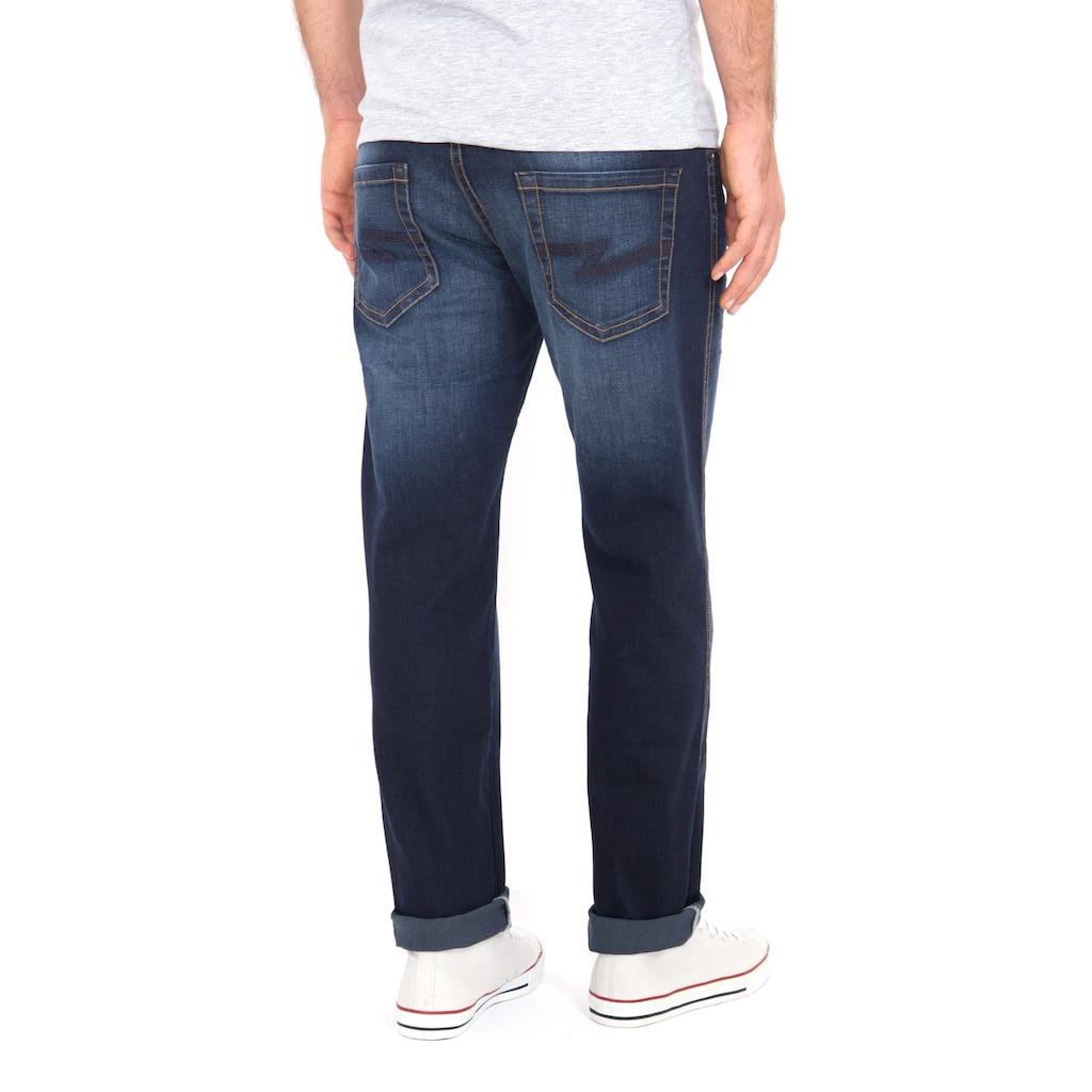 Way of Glory 5-Pocket-Jeans »John«, mit Sitzfalten