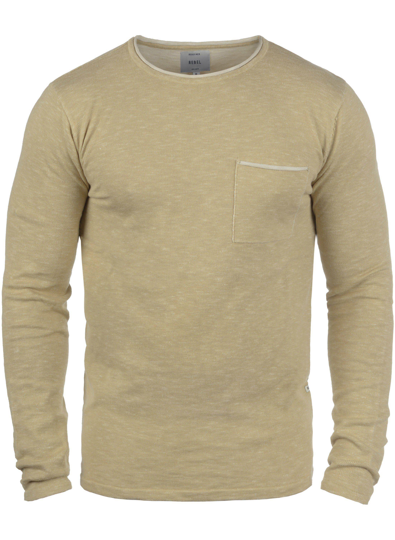 REDEFINED REBEL Rundhalspullover Maverick | Bekleidung > Pullover > Rundhalspullover | Redefined Rebel