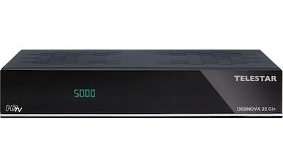 TELESTAR Satellitenreceiver »Diginova 23 CI+«, (USB PVR... kaufen