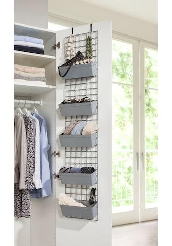 Ruco Hängeregal, Kunststoff, ideal für Socken, Tücher, Accessoires, einfach an der... kaufen
