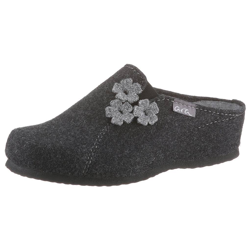 Ara Pantoffel »COSY«, mit ergonomisch geformtem Fußbett